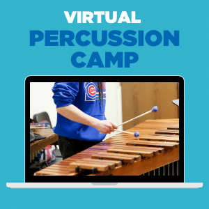virtual percussion summer camp